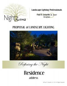 What Should You Expect In A Landscape Lighting Proposal