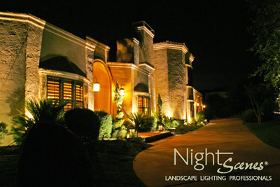 Introducing the nightscenes welcome home outdoor for Landscape lighting packages