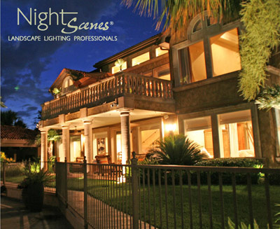 how long does it take to install a professional outdoor lighting