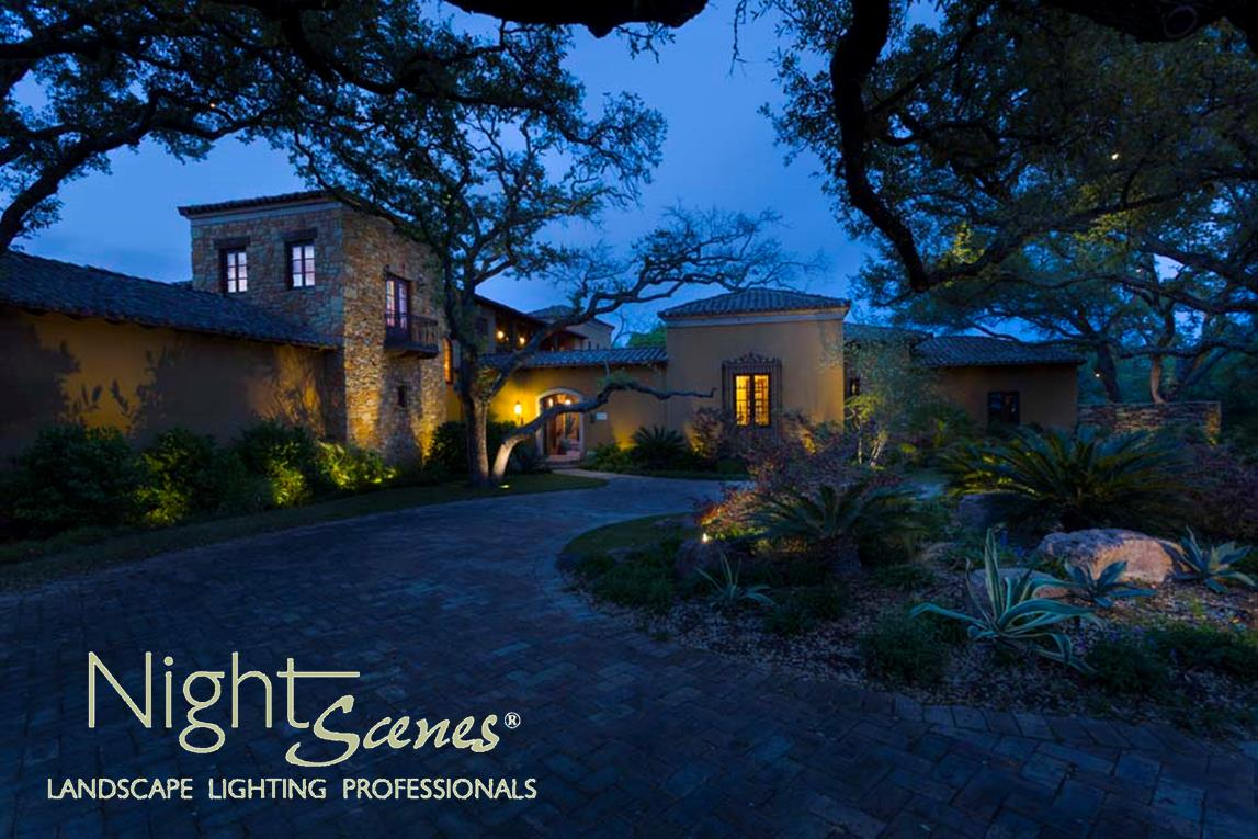 austin low voltage outdoor lighting for curb appeal nightscenes