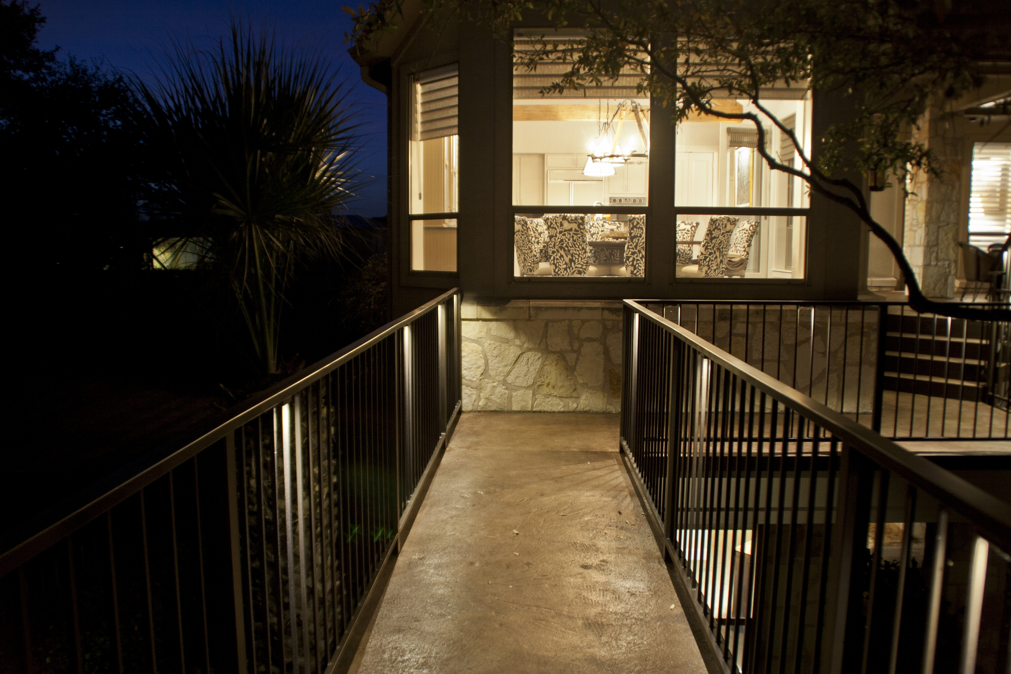 Austin Landscape Lighting Design Deck Lighting NightScenes