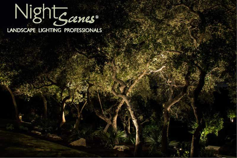 Austin Outdoor Lighting Austin and central texas low voltage landscape lighting can last for a group of oak trees workwithnaturefo