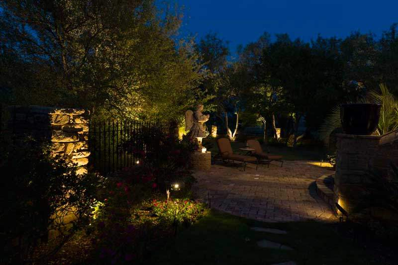Price for landscape lighting in the austin area nightscenes price for landscape lighting aloadofball Images