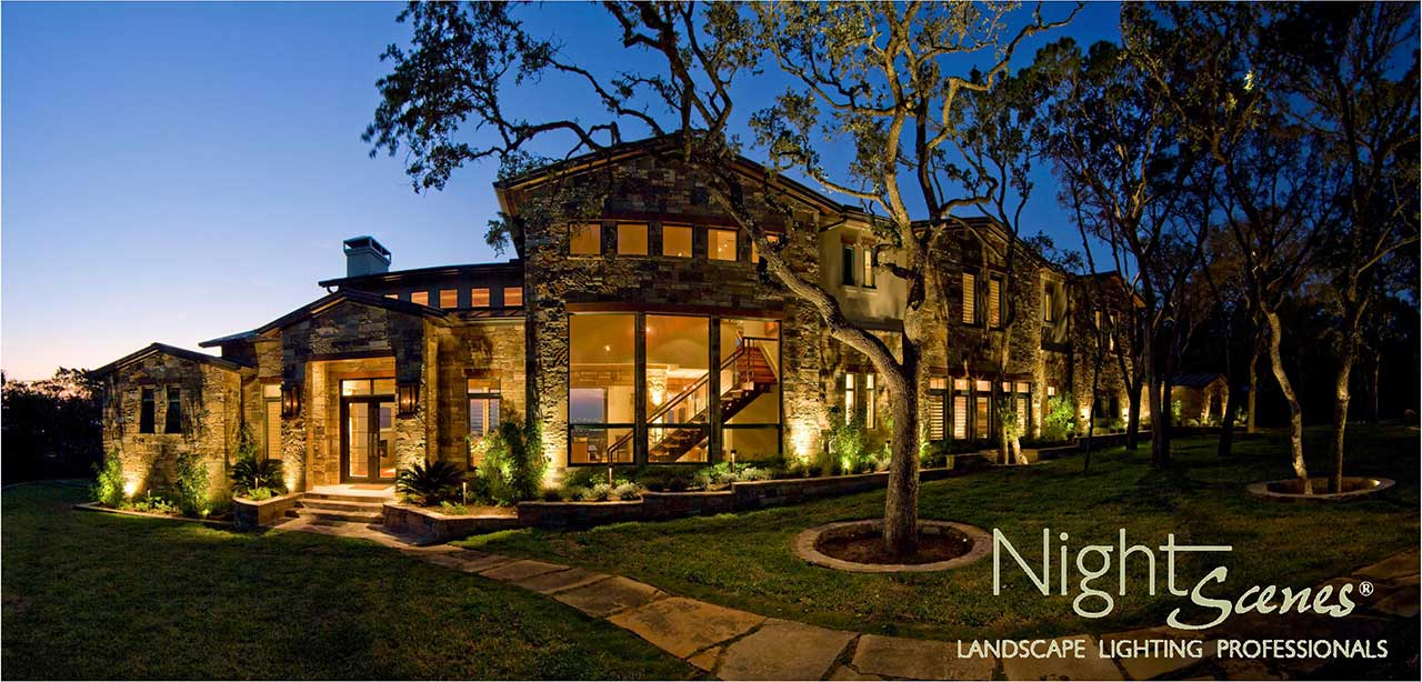 Price For Landscape Lighting In The Austin Area Nightscenes